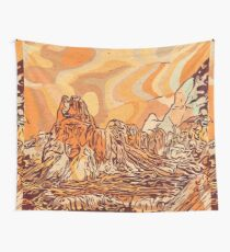Abstract mountains Wall Tapestry