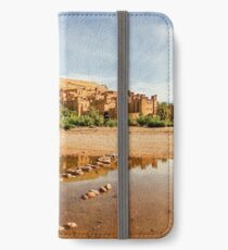 Panorama of famous Ait Benhaddou, Morocco  iPhone Wallet/Case/Skin