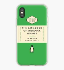 Penguin Classics The Case-Book of Sherlock Holmes iPhone Case