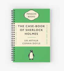 Penguin Classics The Case-Book of Sherlock Holmes Spiral Notebook