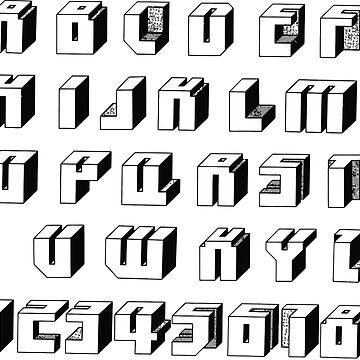 Alphabet#1 by 1M18