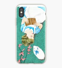 Book Lover Illustration inspired by Alice iPhone Case