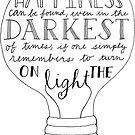 «Enciende la luz» de Reality Alchemy