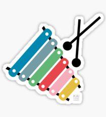 Zylophone by KAI Copenhagen Sticker