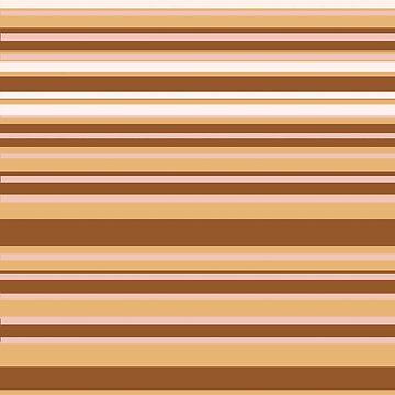 Coffee color stripes  by Manitarka