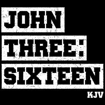 John Three Sixteen - KJV by identiti