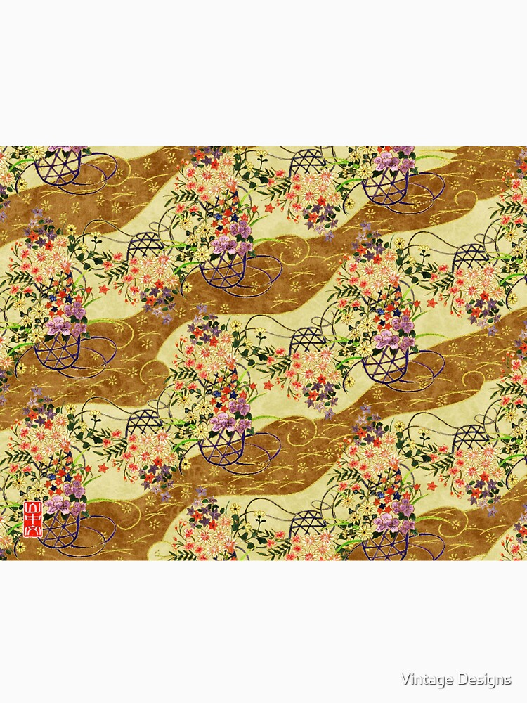 Vintage Japanese pattern artwork  by Geekimpact
