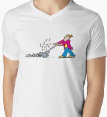 mower Men's V-Neck T-Shirt