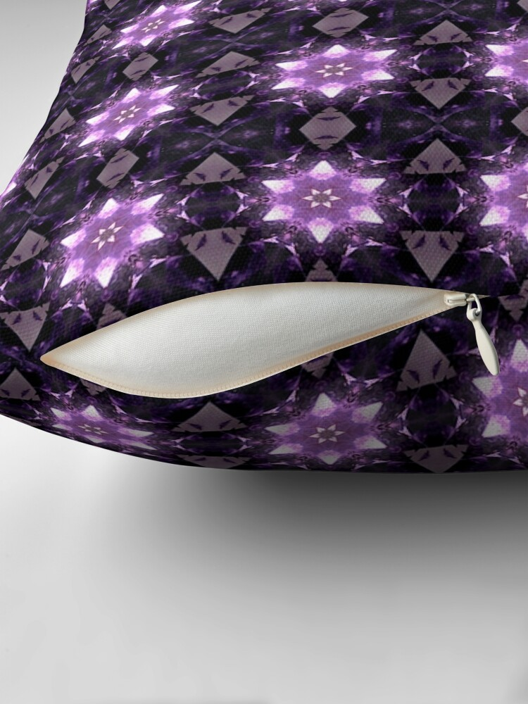 Quot Amethyst Quot Throw Pillow By Auroraskylily Redbubble