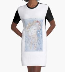 Angel of Love Graphic T-Shirt Dress