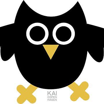 BLACK OWL by KAI Copenhagen by KAI-Copenhagen