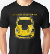Chevrolet Corvette C7 Z06 - Yellow Unisex T-Shirt