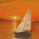 Sailing Home by Hilary Robinson by Kim McClain Gregal