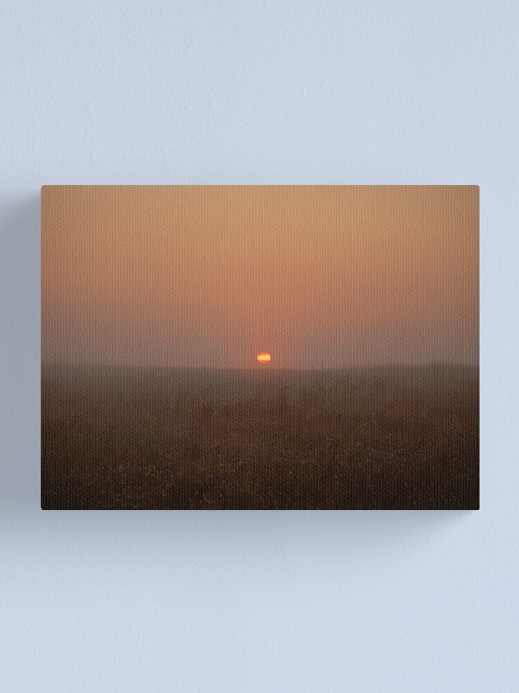 Alternate view of While you were sleeping Canvas Print