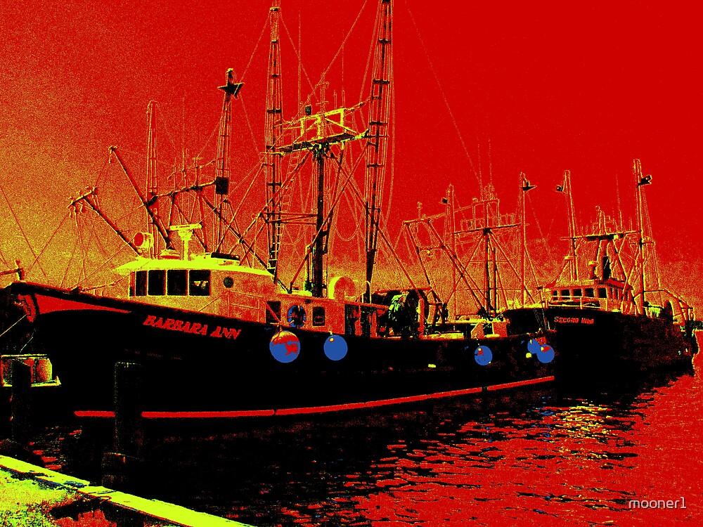 Fishing Boats, Point Judith, RI, USA by mooner1