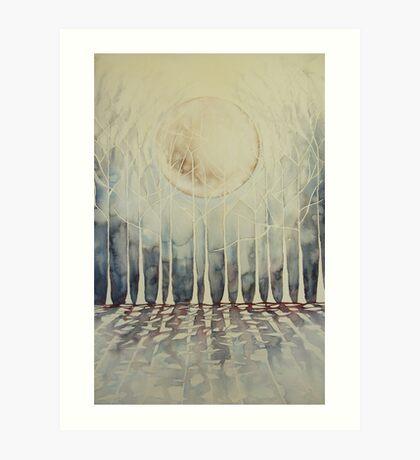 senza foglie © 2009 patricia vannucci  Art Print
