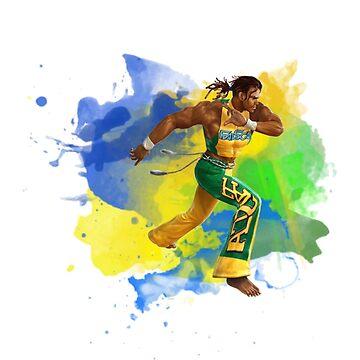 Eddy Gordo Capoeira Brazil by VictorR9