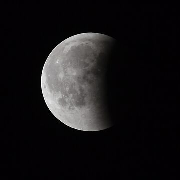 Super Bloody Moon, full eclipse last phase by LukeSzczepanski