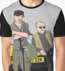Detectorists - Lance & Andy - DMDC Graphic T-Shirt