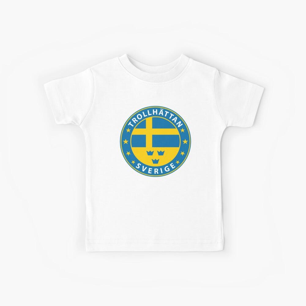 Trollhättan, Trollhättan Schweden, Trollhättan Sverige, Trollhättan Aufkleber, Stadt von Schweden Kinder T-Shirt