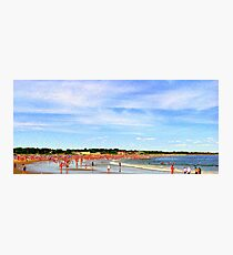 Narragansett Beach, RI, USA Photographic Print