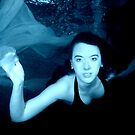 Underwater blue by Stephen Colquitt