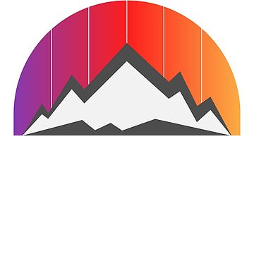 Mountain Sunset graphic by BrobocopPrime