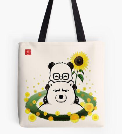 Bears and Sunflowers Tote Bag