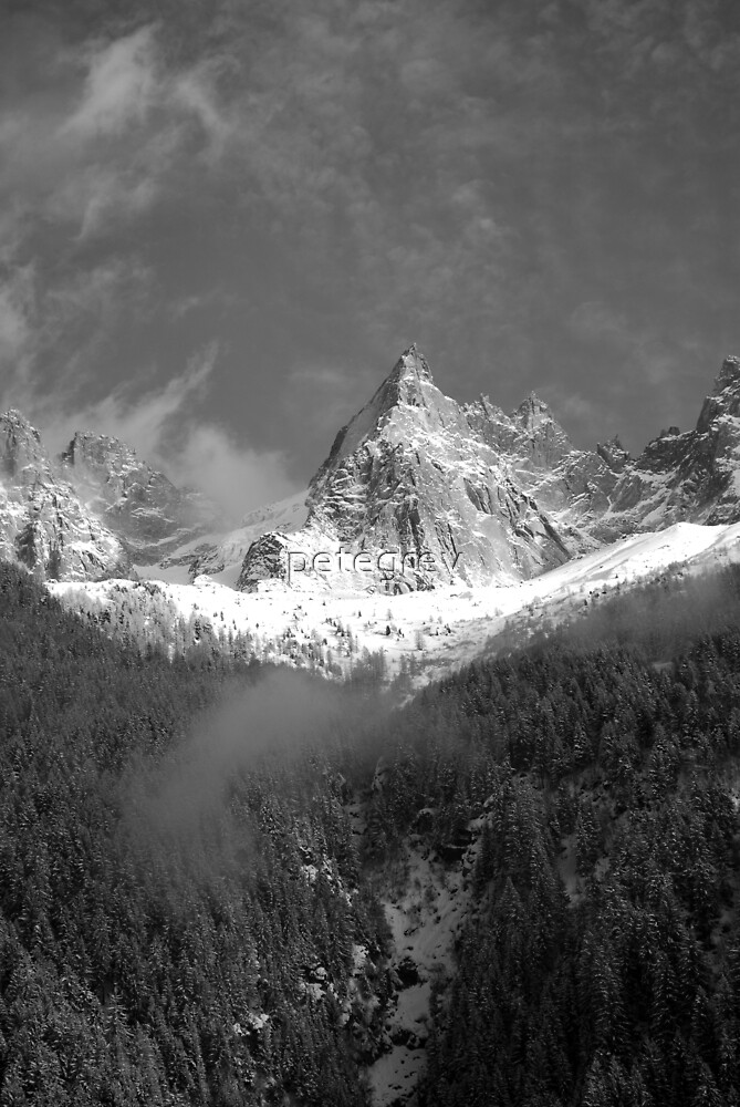 Chamonix Valley 1 by petegrev