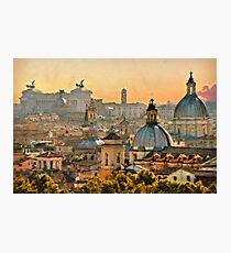 Rome Cityscape Photographic Print