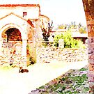Albania: foreshortening of the Orthodox Convent of Ardenica by Giuseppe Cocco