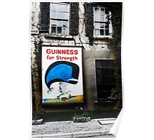 Guinness For Strength Poster