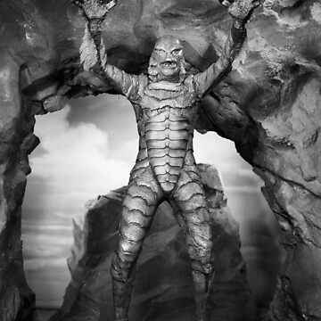 The Creature from the Black Lagoon by jonzes