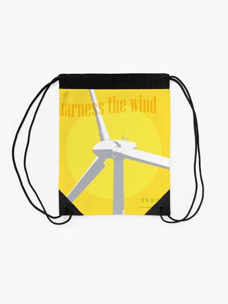 Alternative Ansicht von Harness The Wind Turnbeutel