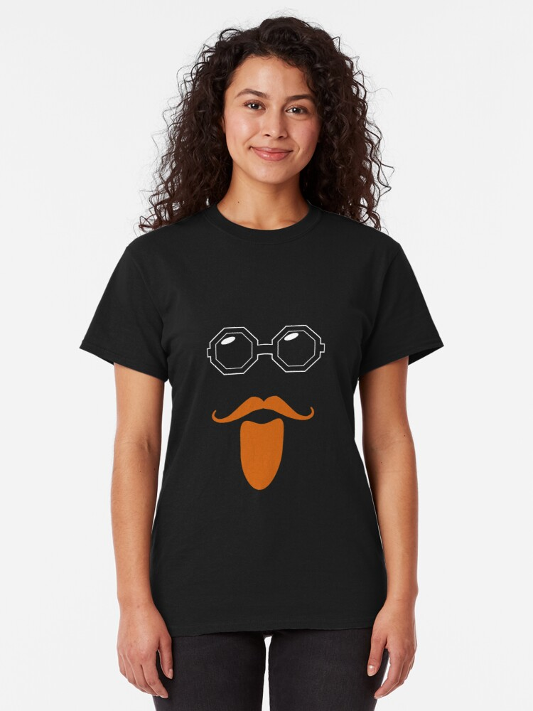 Alternate view of Ginger Geezer - Sir Vivian Stanshall Classic T-Shirt