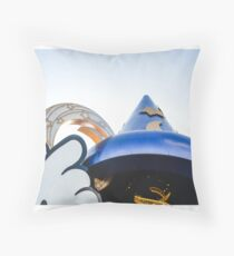 The Old Sorcerer's Hat Throw Pillow
