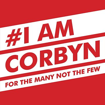 #I AM CORBYN [red] by creativesinc