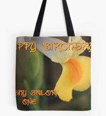Happy Birthday dinghysailor1 !! Tote Bag