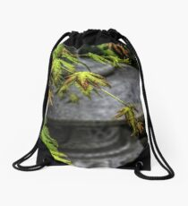 In A Japanese Garden Drawstring Bag