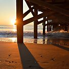 2nd Ave Pier Sunrise by Dawne Dunton