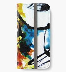 Lips of Dispersion colours iPhone Wallet/Case/Skin