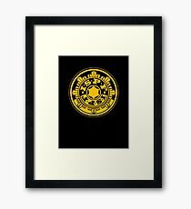 ISPF - International Space Police Force Framed Print