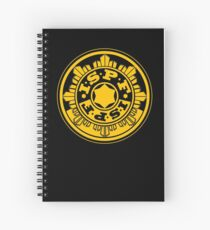 ISPF - International Space Police Force Spiral Notebook