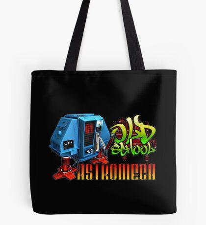 Old School Astromech - Back Tote Bag