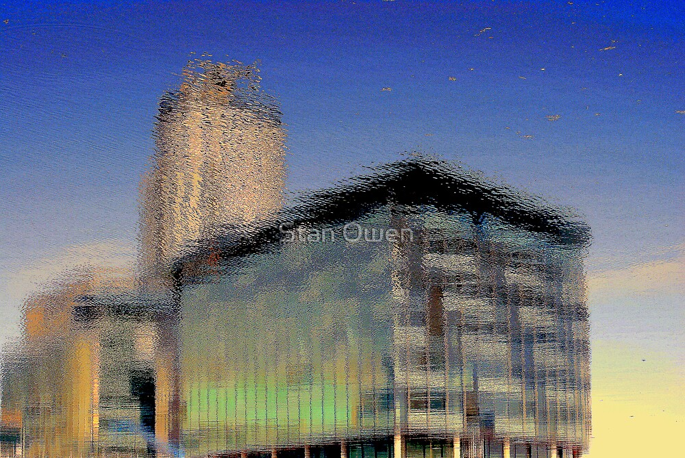 Underconstruction Reflection. by Stan Owen