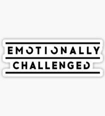 Declan McKenna Emotionally Challenged Sticker