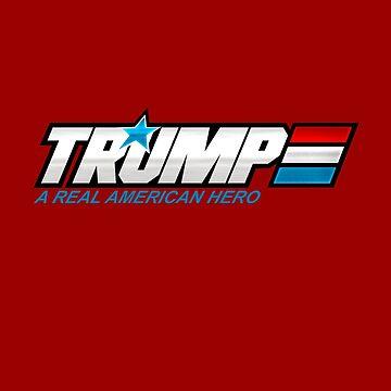 Trump 90's  Retro logo by mavisshelton
