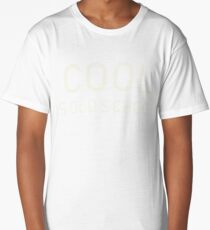 Cool Is Old School Funny Gift T Shirt  Long T-Shirt