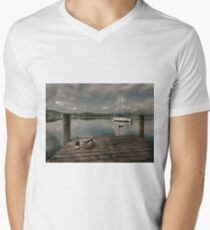 Champagne Yacht Men's V-Neck T-Shirt