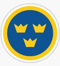 Tre Kronor - Schwedische Luftwaffe Sticker